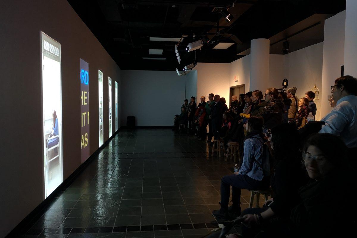 Oeuvre collective : Dénombrement, un regard sur l'incarcération au féminin (Lancement au Musée POP de Trois-Rivières, 2019)