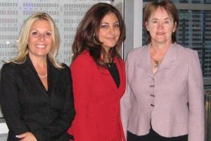 Dominique Larochelle, Lida Nouraie et Ruth Gagnon