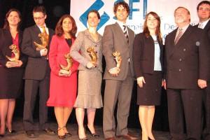 Lauréats du Prix Bono 2007